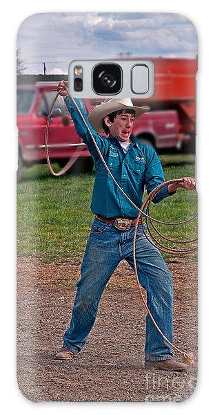 Young Cowboy  Galaxy Case