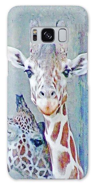 Young Giraffes Galaxy Case