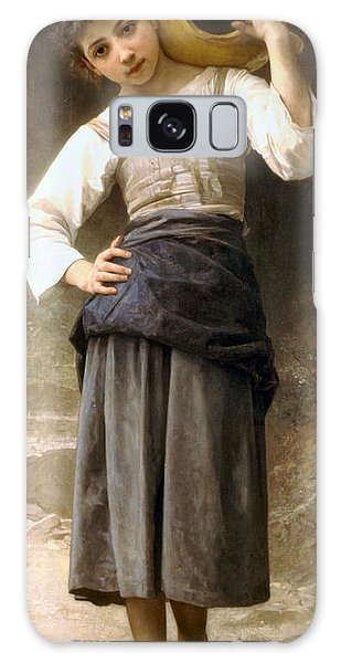 Jug Galaxy Case - Young Girl Going To The Fountain by William Bouguereau