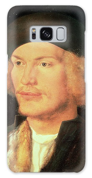 Moustache Galaxy Case - Young Man, 1507 Oil On Panel by Albrecht D�rer or Duerer