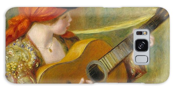 Guitar Galaxy Case - Young Spanish Woman With A Guitar by Pierre Auguste Renoir