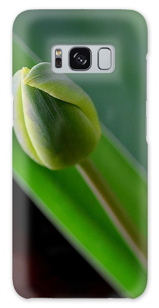 Young Tulip Galaxy Case by Lisa Phillips
