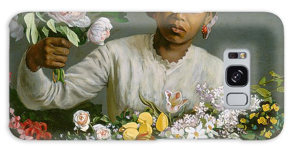 Earring Galaxy Case - Young Woman With Peonies by Jean Frederic Bazille