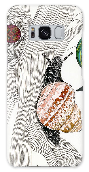 Your Garden Snail Galaxy Case