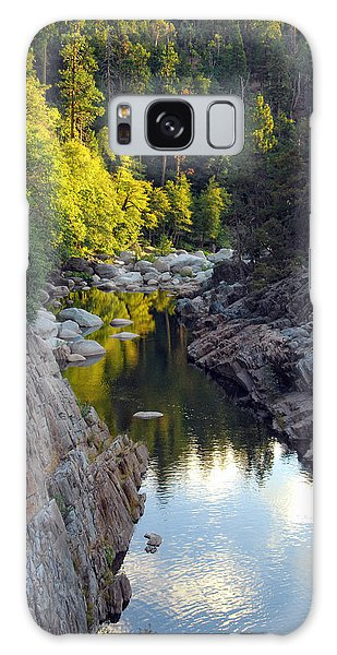 Yuba River Twilight Galaxy Case