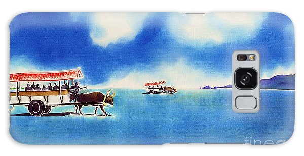 Yubu Island-water Buffalo Taxi  Galaxy Case
