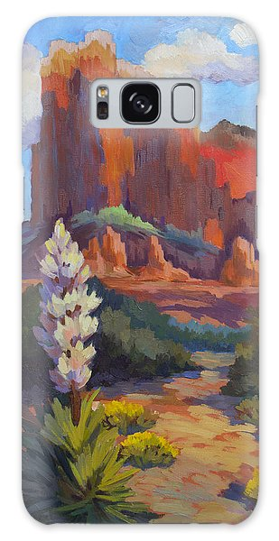Yucca At Sedona Galaxy Case