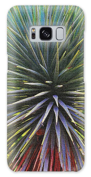 Yucca At The Arboretum Galaxy Case by Tom Janca