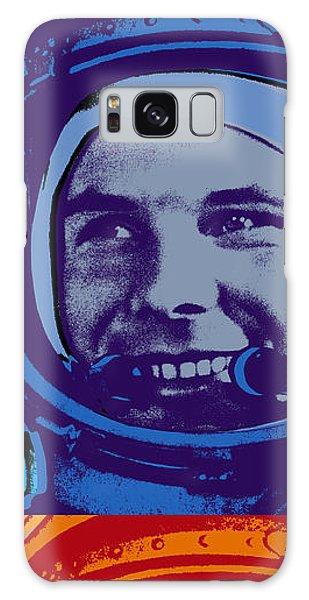 Yuri Gagarin  Galaxy Case by Jean luc Comperat