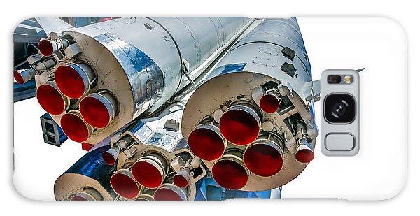 Yuri Gagarin's Spacecraft Vostok-1 - 5 Galaxy Case by Alexander Senin