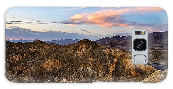Zabriskie Point Sunset Galaxy Case