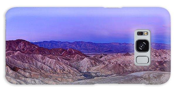 Contour Galaxy Case - Zabriskie Sunrise Panorama - Death Valley National Park. by Jamie Pham