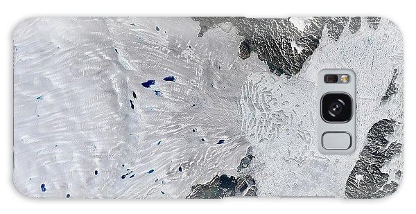 Earth From Space Galaxy Case - Zachariae Isstrom Glacier by Nasa Earth Observatory/usgs