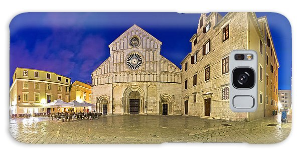 Zadar Cathedral Square Night View Galaxy Case