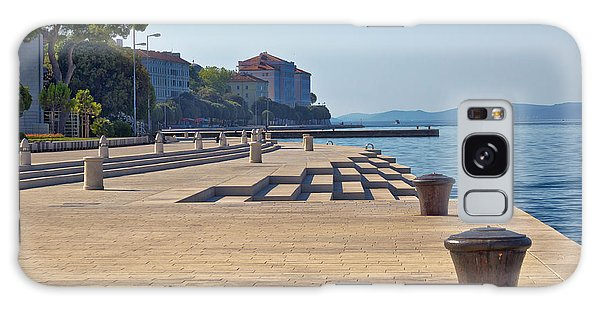 Zadar Waterfront Famous Sea Organs Landmark Galaxy Case