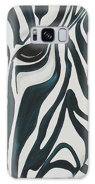 Galaxy Case featuring the painting Zebra by Aliya Michelle