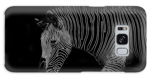 Zebra Art Galaxy Case by Bianca Nadeau