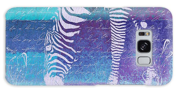Zebra Art - Bp02t01 Galaxy Case by Variance Collections