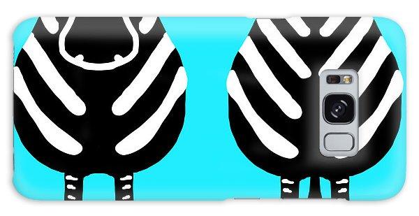 Zebra - Both Ends Galaxy Case