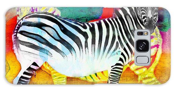Zebra Colors Of Africa Galaxy Case