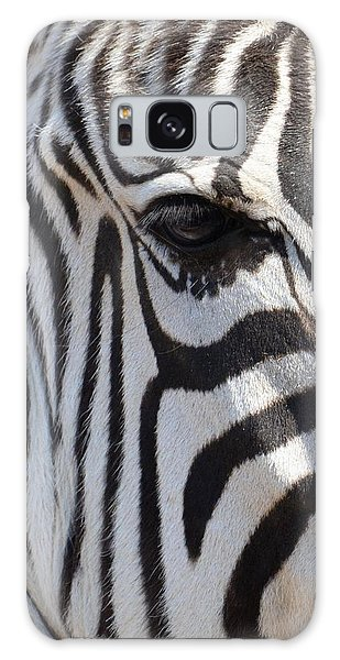 Zebra Eye Abstract Galaxy Case