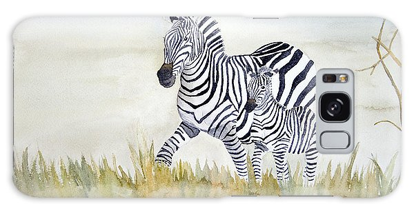 Zebra Family Galaxy Case