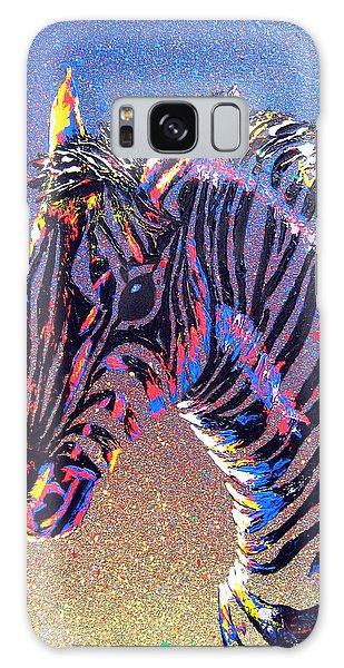 Zebra Fantasy Galaxy Case by Mayhem Mediums
