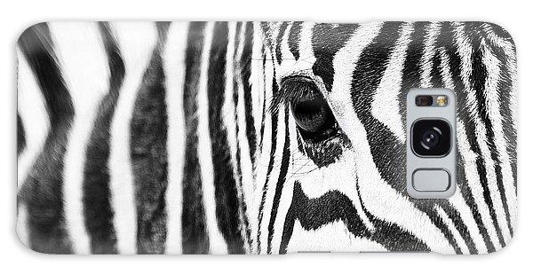 Zebra Gaze Galaxy Case