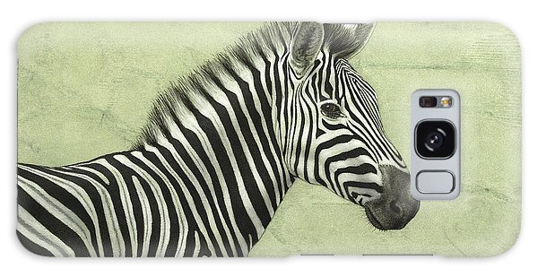 Zebra Galaxy S8 Case - Zebra by James W Johnson