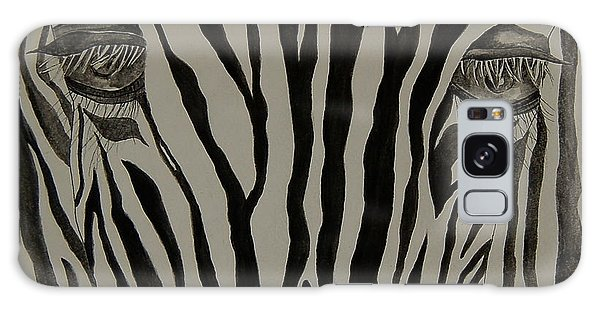 Zebra Lines Galaxy Case