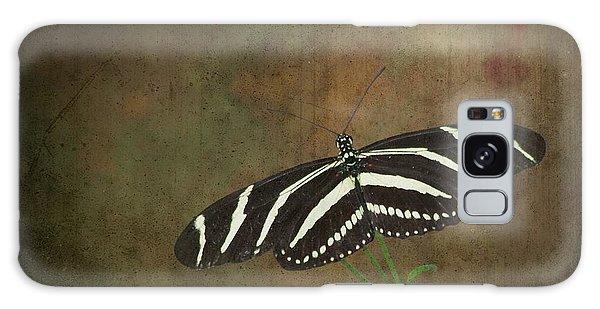 Zebra Longwing  Butterfly-1 Galaxy Case