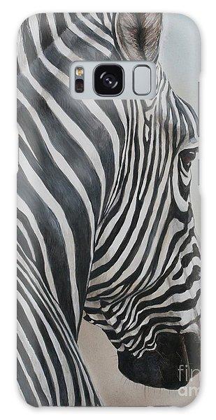 Zebra Look Galaxy Case