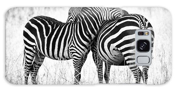 Zebra Love Galaxy Case