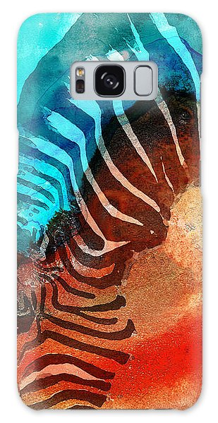 Zebra Galaxy S8 Case - Zebra Love - Art By Sharon Cummings by Sharon Cummings