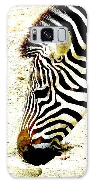 Zebra Mug Shot Galaxy Case