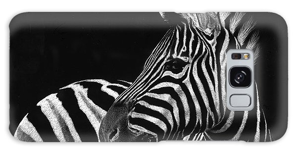 Zebra No. 3 Galaxy Case