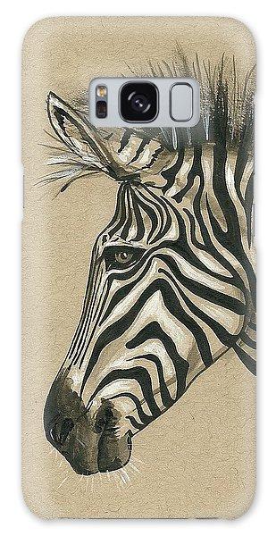 Zebra Profile Galaxy Case