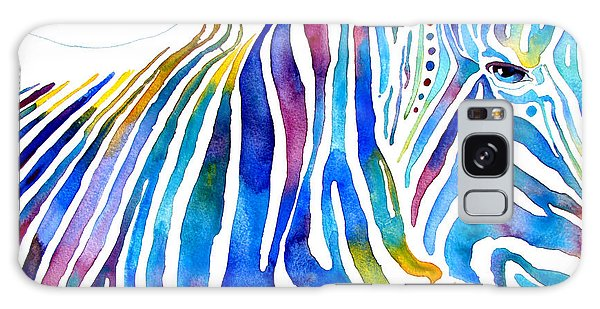 Zebra Stripes Galaxy Case by Jo Lynch