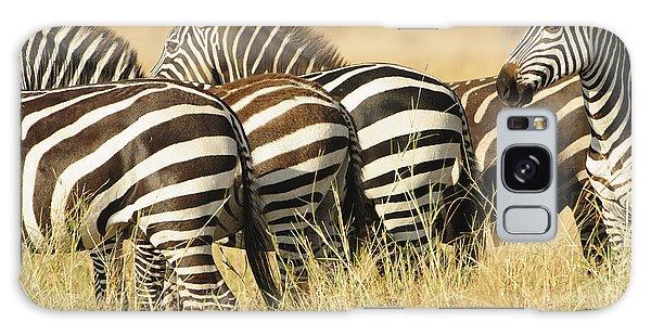Zebra Stripes Galaxy Case