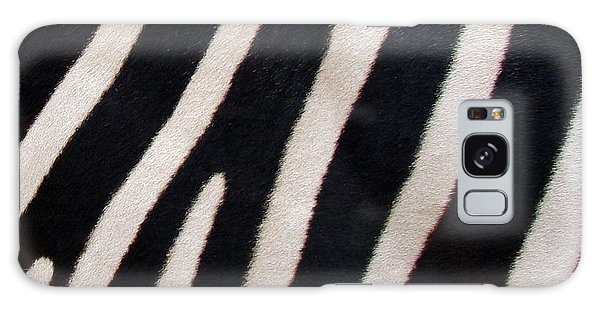 Zebra Stripes Galaxy Case by Ramona Johnston