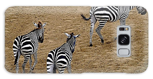 Zebra Tails Galaxy Case