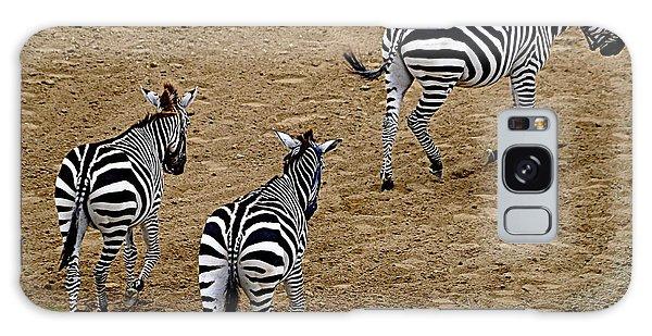 Zebra Tails Galaxy Case by AJ  Schibig