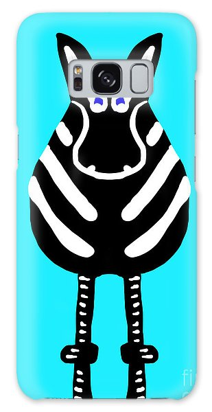 Zebra - The Front View Galaxy Case
