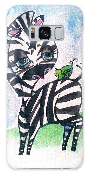 Zebra Zee  Galaxy Case