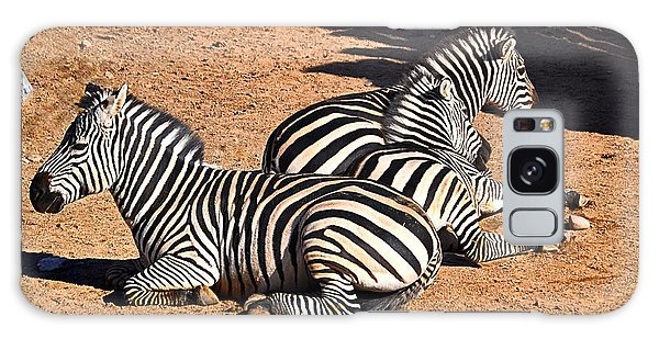 Galaxy Case featuring the photograph Zebra1 by Gerald Greenwood