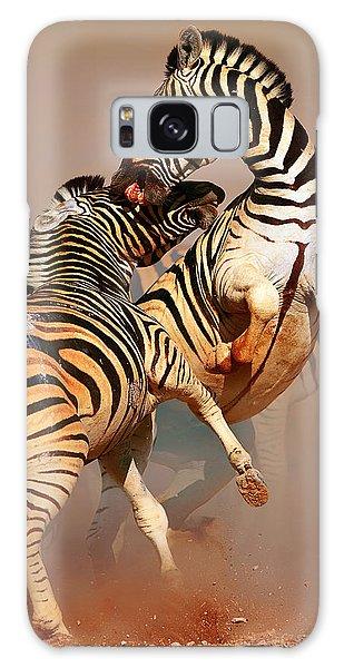 Cause Galaxy Case - Zebras Fighting by Johan Swanepoel