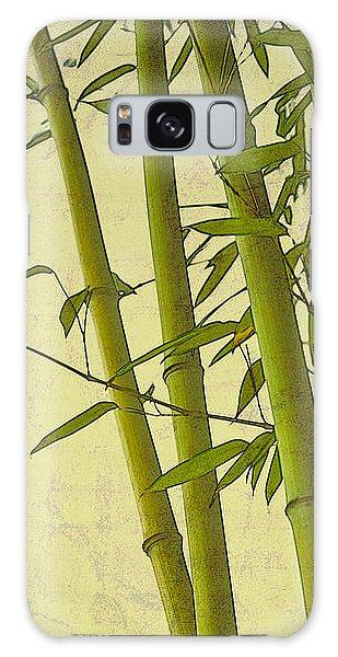 Zen Bamboo Abstract I Galaxy Case