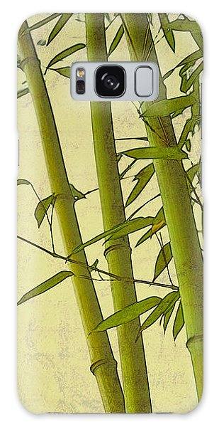 Zen Bamboo Abstract I Galaxy Case by Marianne Campolongo