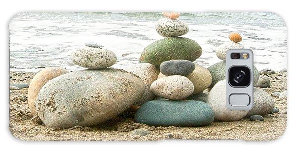 Zen Meditation Balance Galaxy Case by Artist and Photographer Laura Wrede