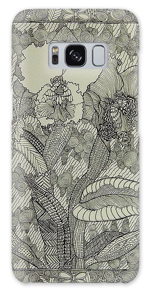 Zen Orchids Galaxy Case by Terry Holliday